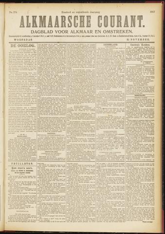 Alkmaarsche Courant 1917-11-21