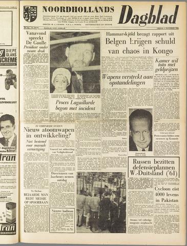 Noordhollands Dagblad : dagblad voor Alkmaar en omgeving 1960-11-04