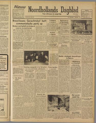 Nieuw Noordhollandsch Dagblad : voor Alkmaar en omgeving 1947-05-08