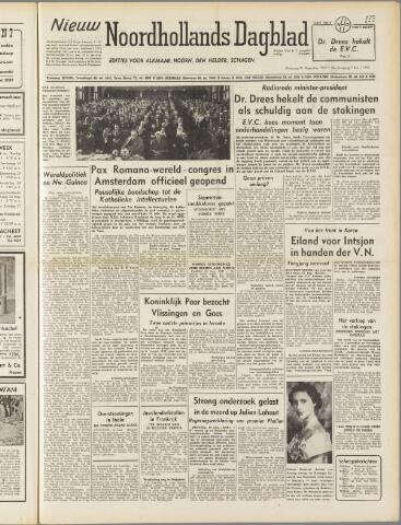 Nieuw Noordhollandsch Dagblad : voor Alkmaar en omgeving 1950-08-21