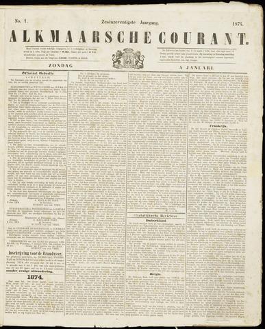 Alkmaarsche Courant 1874-01-04