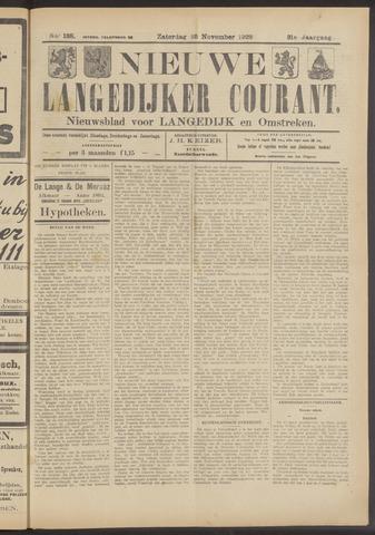Nieuwe Langedijker Courant 1922-11-25