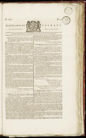 Alkmaarsche Courant 1832-03-19