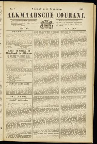 Alkmaarsche Courant 1888-01-15