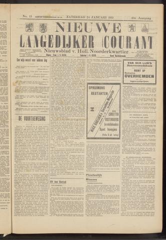 Nieuwe Langedijker Courant 1931-01-24