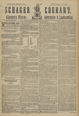 Schager Courant 1911-09-27