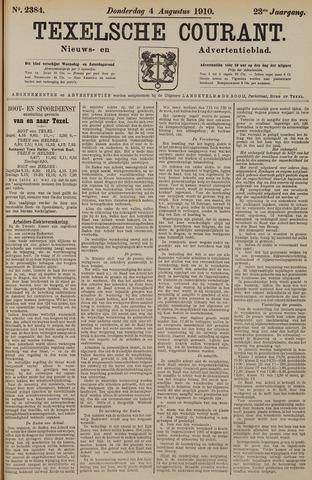 Texelsche Courant 1910-08-04