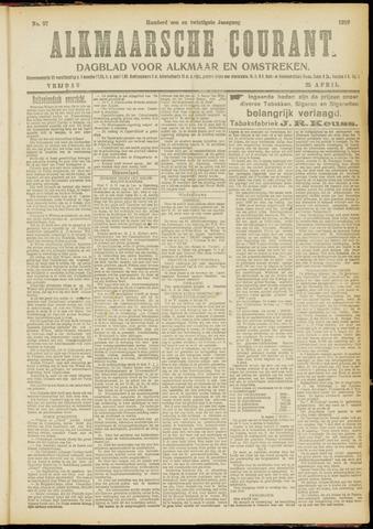 Alkmaarsche Courant 1919-04-25