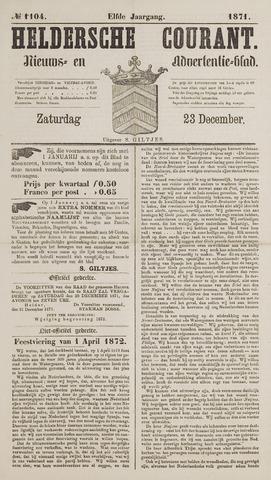 Heldersche Courant 1871-12-23
