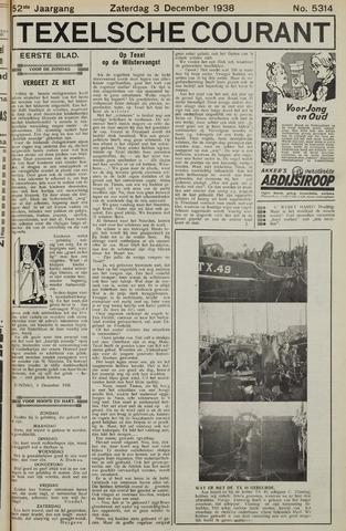 Texelsche Courant 1938-12-03