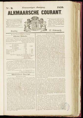 Alkmaarsche Courant 1859-02-27