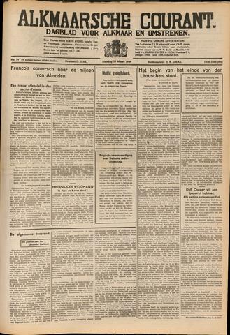 Alkmaarsche Courant 1939-03-28