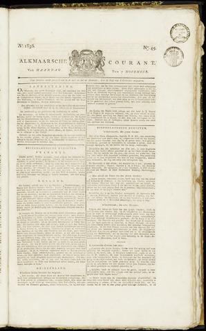 Alkmaarsche Courant 1836-11-07
