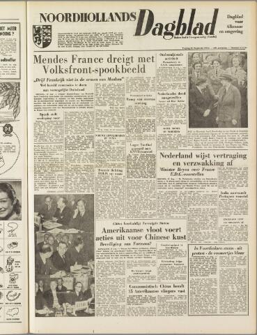 Noordhollands Dagblad : dagblad voor Alkmaar en omgeving 1954-08-20