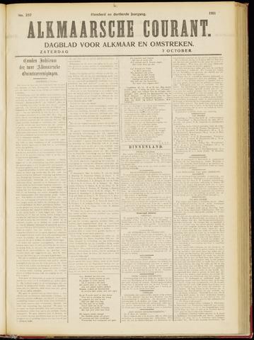 Alkmaarsche Courant 1911-10-07