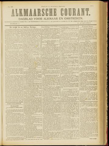 Alkmaarsche Courant 1918-08-06