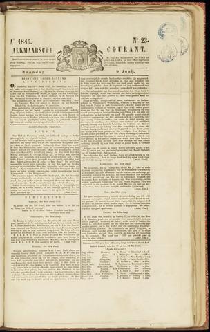 Alkmaarsche Courant 1845-06-09