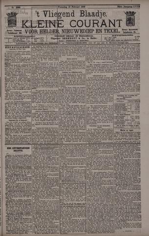 Vliegend blaadje : nieuws- en advertentiebode voor Den Helder 1896-02-12