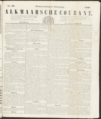Alkmaarsche Courant 1869-09-19