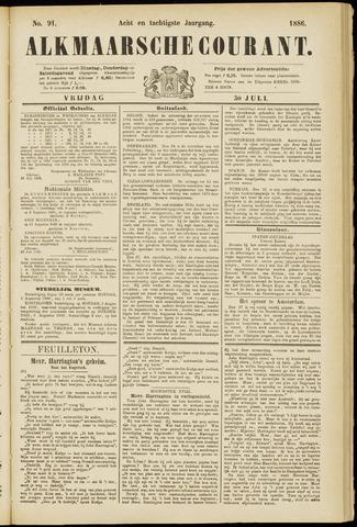 Alkmaarsche Courant 1886-07-30