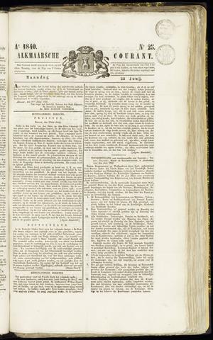 Alkmaarsche Courant 1840-06-22