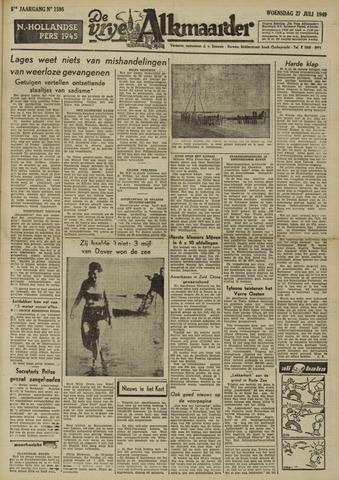 De Vrije Alkmaarder 1949-07-27