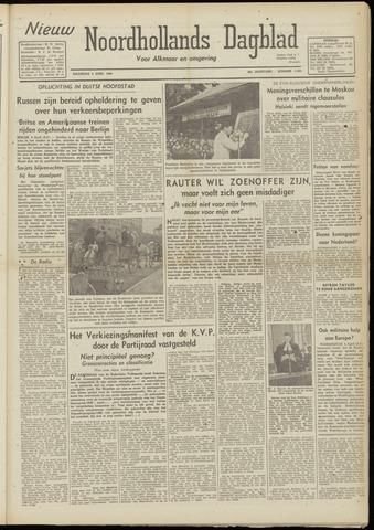 Nieuw Noordhollandsch Dagblad : voor Alkmaar en omgeving 1948-04-05
