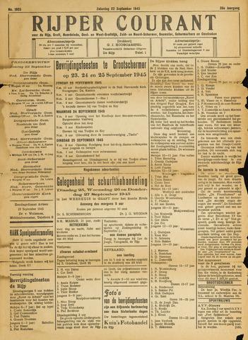 Rijper Courant 1945-09-22