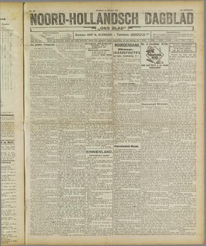 Ons Blad : katholiek nieuwsblad voor N-H 1921-03-18