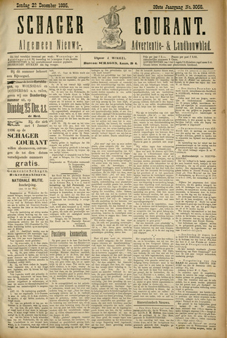 Schager Courant 1895-12-22