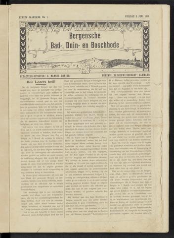 Bergensche bad-, duin- en boschbode 1910-06-03