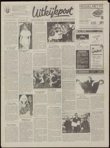 Uitkijkpost : nieuwsblad voor Heiloo e.o. 1991-11-13