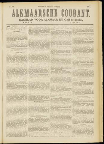 Alkmaarsche Courant 1914-03-27
