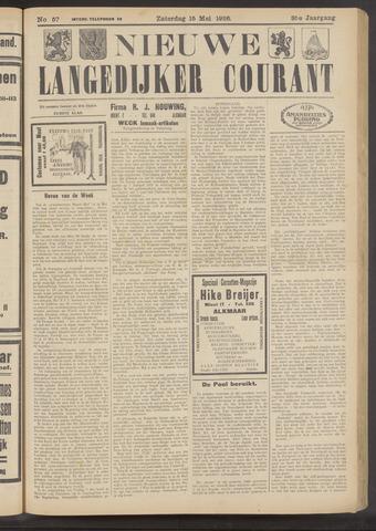 Nieuwe Langedijker Courant 1926-05-15