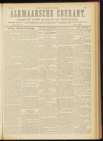 Alkmaarsche Courant 1917-04-30