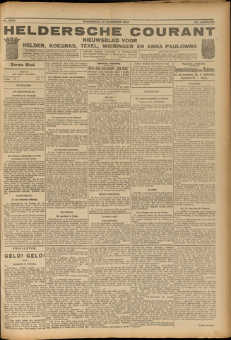 Heldersche Courant 1923-11-22