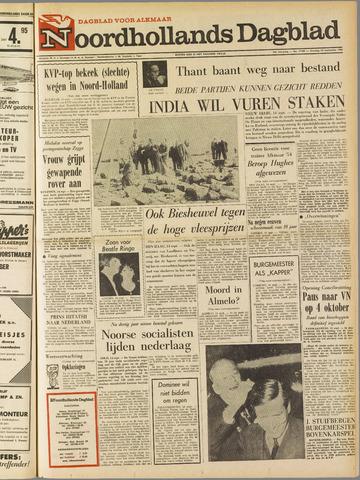 Noordhollands Dagblad : dagblad voor Alkmaar en omgeving 1965-09-14