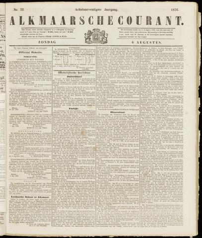 Alkmaarsche Courant 1876-08-06