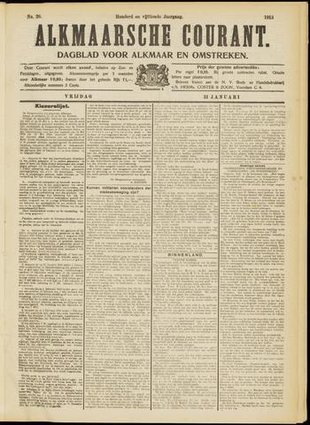 Alkmaarsche Courant 1913-01-31