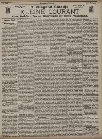 Vliegend blaadje : nieuws- en advertentiebode voor Den Helder 1908-05-16