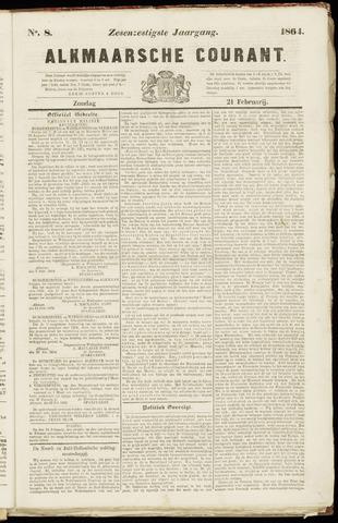 Alkmaarsche Courant 1864-02-21