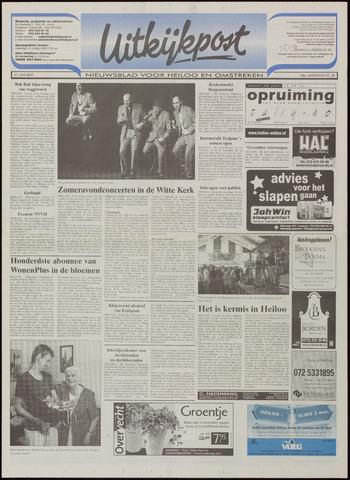 Uitkijkpost : nieuwsblad voor Heiloo e.o. 2001-06-27