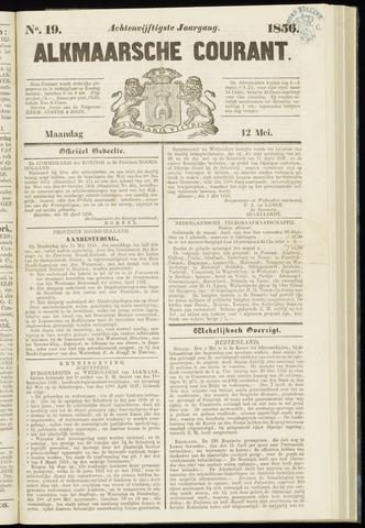 Alkmaarsche Courant 1856-05-12