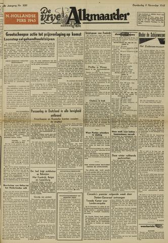 De Vrije Alkmaarder 1947-11-06