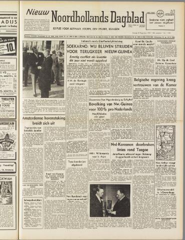 Nieuw Noordhollandsch Dagblad : voor Alkmaar en omgeving 1950-08-18