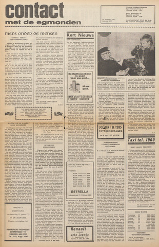 Contact met de Egmonden 1971-12-22