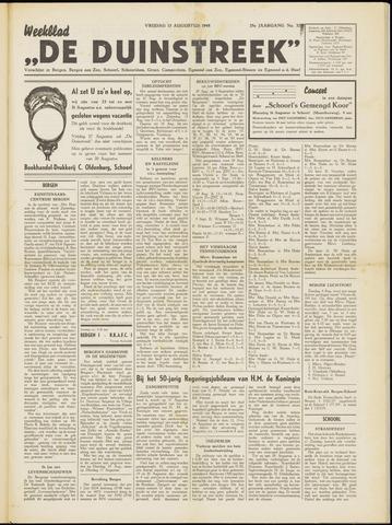 De Duinstreek 1948-08-13