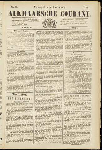 Alkmaarsche Courant 1888-07-13