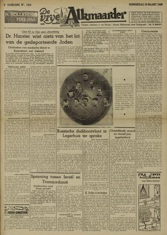 De Vrije Alkmaarder 1949-03-10