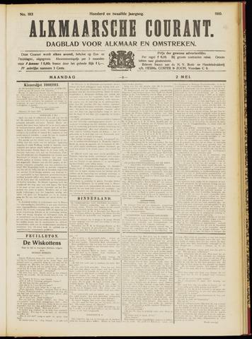 Alkmaarsche Courant 1910-05-02